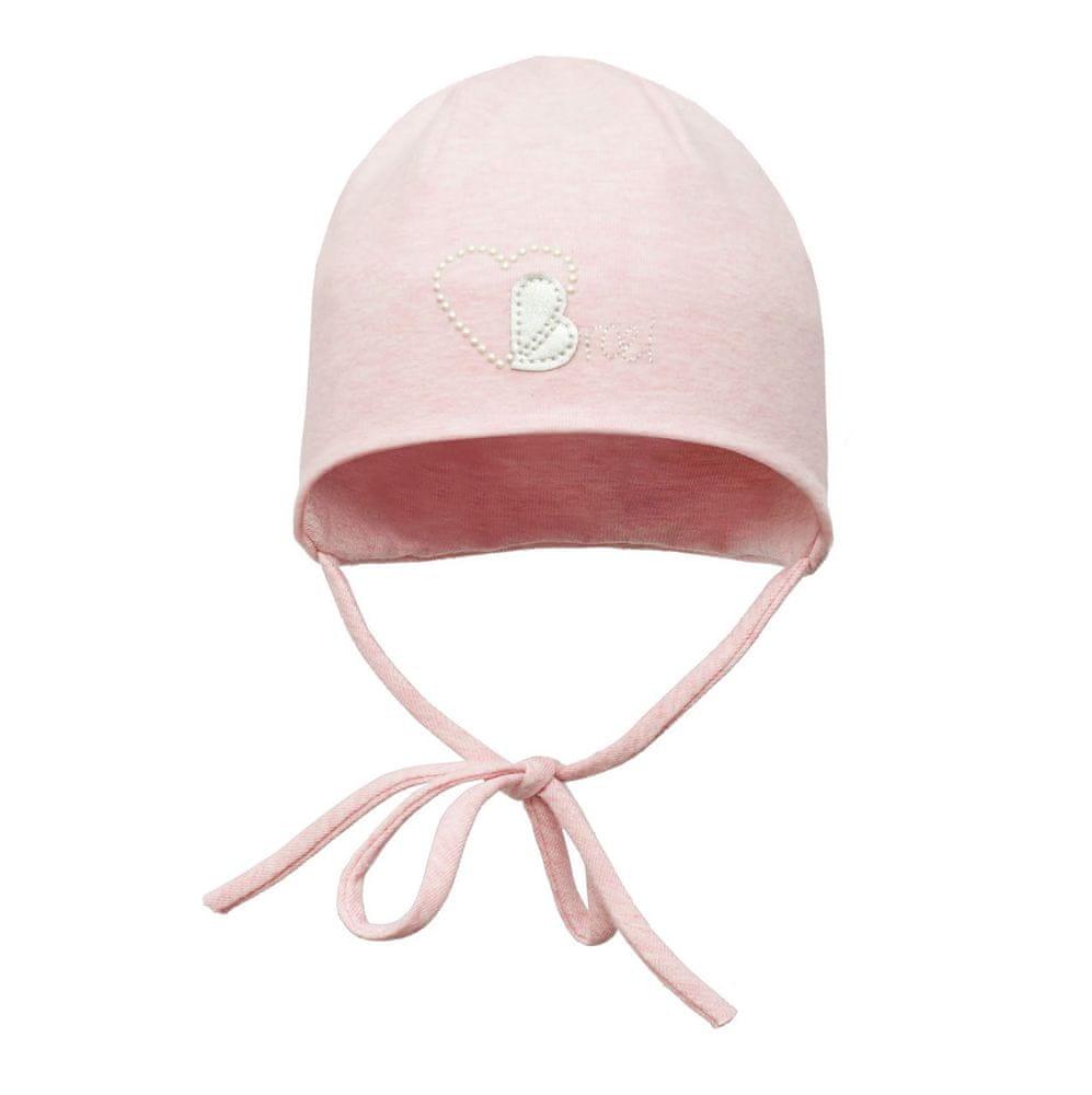 Broel dívčí čepice Basic 37 růžová