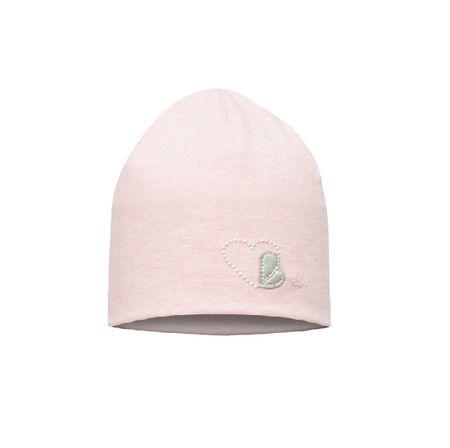 Broel lányos sapka Basic 92 39 rózsaszín