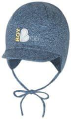Broel chłopięca czapka Basic z wiązaniem