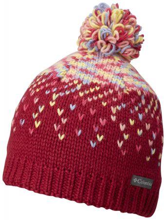 COLUMBIA czapka dziecięca Siberian Sky Beanie Pomegranate Cactus Pink S/M