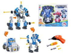 Alltoys Šroubovací robot s vrtačkou - modrý