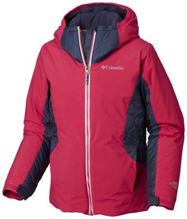 Columbia otroška jakna Wild Child Jacket Cactus Pink, rdeča, S