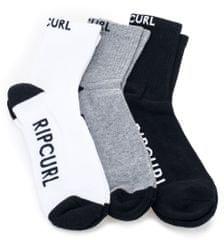 Rip Curl pánské trojité balení ponožek Rip Surfco Crew 3P