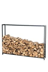 BHM Germany Stojan na drevo Skog, 150x195 cm, matná čierna