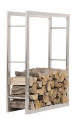 BHM Germany Stojan na dřevo Karin, 100x150 cm, nerez