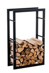 BHM Germany Stojan na dřevo Karin, 80x100 cm, černá