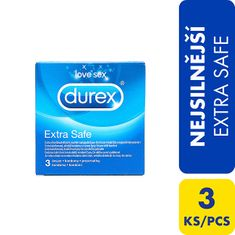 Durex Kondomy Extra Safe