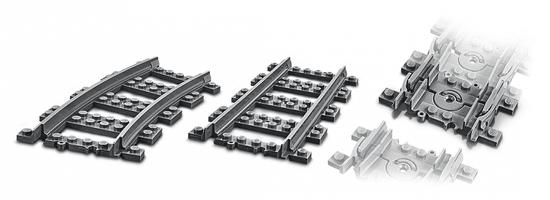 LEGO CITY 60205 Železniški tiri