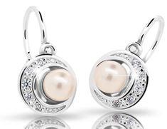 Cutie Jewellery Dětské náušnice C2256-10-C3-S-2 stříbro 925/1000