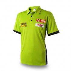 XQMax Darts Košile Michael van Gerwen Replica match shirt - pouze S - výprodej