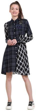 Desigual Fressia Navy 18WWVW39 5000 Női ruha (méret 40)