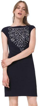 Desigual Dámske šaty Vest Rosa 71V2GC3 5001 (Veľkosť M)