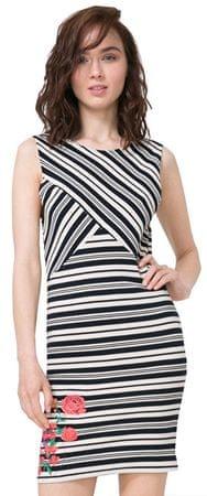 Desigual Dámske šaty Vest Four 72V2YG0 1000 (Veľkosť XS)