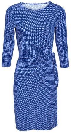 Smashed Lemon Dámske krátke šaty Blue 17049/03 (Veľkosť S)