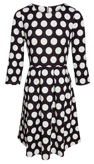 Smashed Lemon Dámské krátké šaty Black 17092/02 (Velikost S)