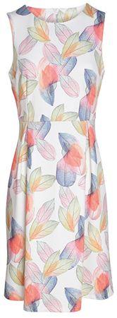 Smashed Lemon Dámske krátke šaty White 17399/01 (Veľkosť S)