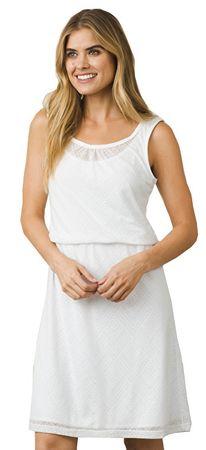 Prana Dámske šaty Mika Dress White Copa (Veľkosť L)