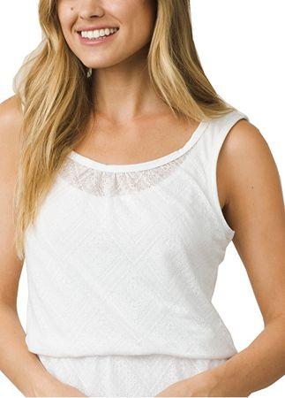 Prana Dámské šaty Mika Dress White Copa (Velikost L) - Diskuze  98c444e8f73