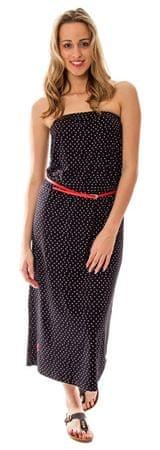 Heavy Tools Dámske šaty dlhé Vernici S17-194 Dotted (Veľkosť S)