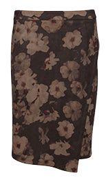 Smashed Lemon Dámská sukně Brown 17842/07 (Velikost XS)