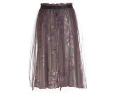 Deha Női szoknya Tulle Skirt B64027 Var.Gr/Gio/Lavanda