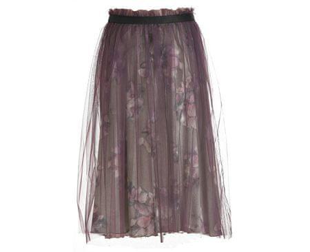 Deha Dámská sukně Tulle Skirt B64027 Var.Gr/Gio/Lavanda (Velikost S)