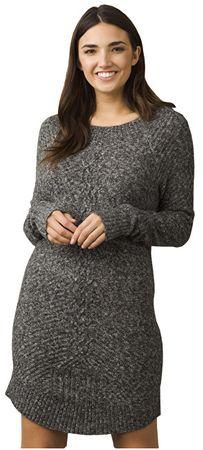 Prana Dámské šaty Cadwell Dress Coal (Velikost L)