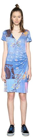 Desigual Dámske šaty Vest All Of Me 18SWVKBH 5202 (Veľkosť XS)