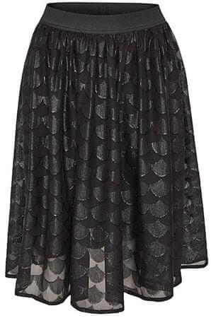 ONLY Dámska sukňa Antonia Midi Skirt Wvn Black (Veľkosť S)