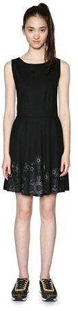 Desigual Dámske šaty Vest Say Yes! 18SWVKBI 2000 (Veľkosť S)