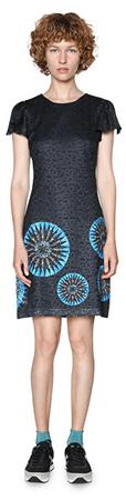 Desigual Dámske šaty Vest Dafne 18SWVWET 5001 (Veľkosť 36)