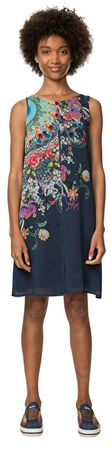 Desigual Dámske šaty Vest Candice 18SWVWES 5001 (Veľkosť 40)