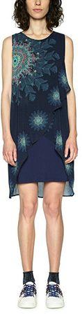 Desigual Dámske šaty Vest Nadia 18SWVWBQ 5000 (Veľkosť 36)
