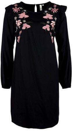 Q/S designed by Dámske šaty 41.803.82.2499.99L0 Black Embroidery (Veľkosť 36)