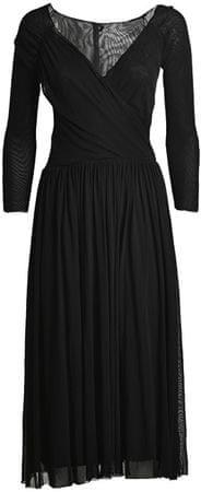 Deha Dámské šaty Double Tulle Dress B74018 Black (Velikost S)