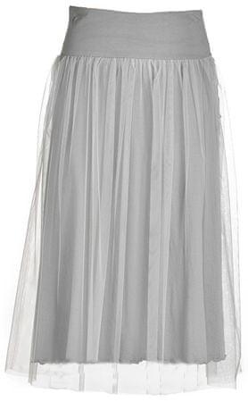 Deha Dámska sukňa Side Knotted Skirt B74055 Pearl Gray (Veľkosť S)