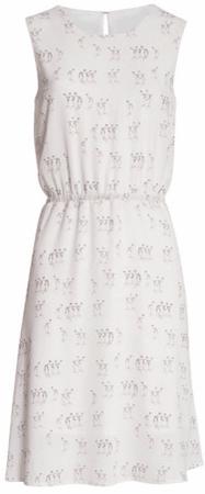 Smashed Lemon Dámské krátké šaty Pink 18136/14 (Velikost XS)