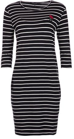Vero Moda Női ruha VMLIROSE 3/4 DRESS D2-3 Black (méret M)