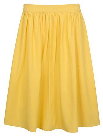 4442c9a152eb Vero Moda Dámska sukňa Ladina H W Calf Skirt D2-3 Cream Gold ...