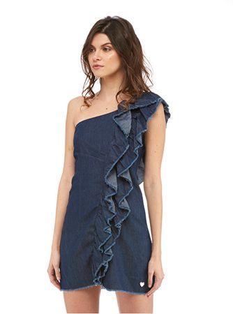 Fornarina Dámské šaty Claude-Denim Dress (Velikost L)