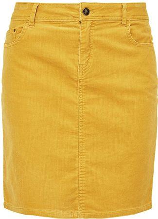 s.Oliver Dámska sukňa 14.809.78.4003.1543 Saffron powder (Veľkosť 36)