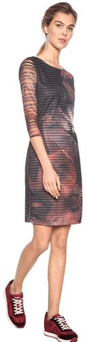 930a946fb59d Desigual Dámské šaty Vest Rosa Glam Rosa Glamour 18WWVK67 3044 (Velikost S)