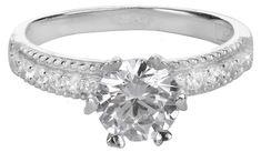 Brilio Silver Strieborný zásnubný prsteň 426 158 00100 04 - 2,75 g striebro 925/1000
