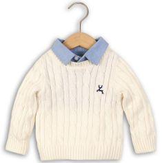 Minoti Chlapčenský sveter s košeľou
