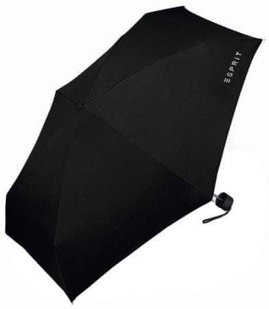 Esprit Dámsky skladací dáždnik Petito Black Diamond