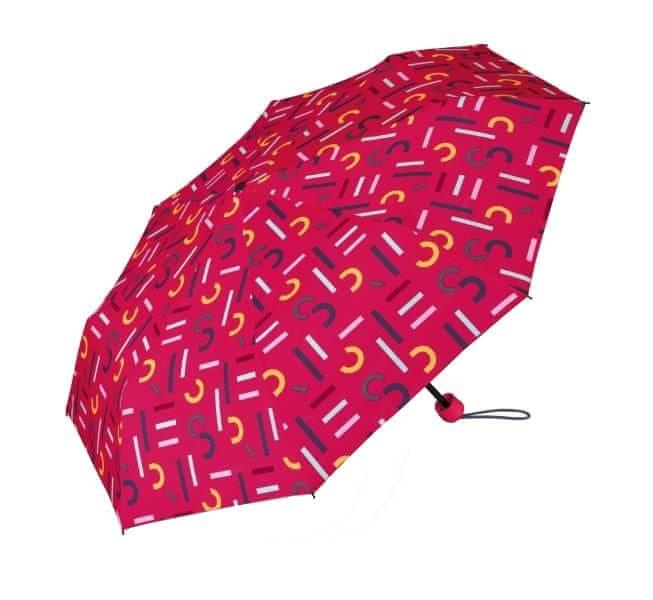 Esprit Dámský skládací deštník Super Mini With Shopper Pink