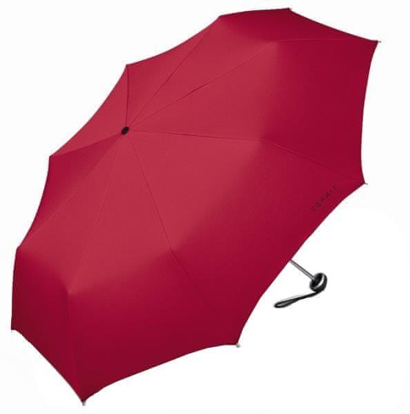 Esprit Dámský skládací deštník Mini Alu Light Flagred