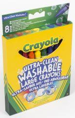 Crayola Voskovky extra umývateľné 8 ks