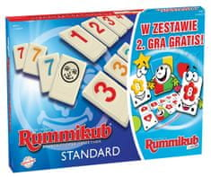 Rummikub gra Rummikub 2w1 + Junior