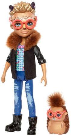 Mattel lalka Enchantimals Hixby i Jeżyk